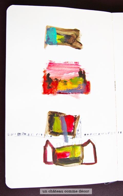 peinture château sophie plouvier