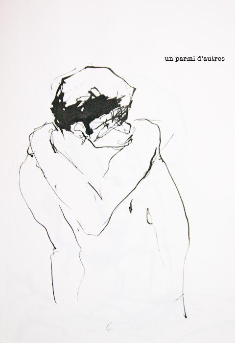dessin d'homme sophie plouvier