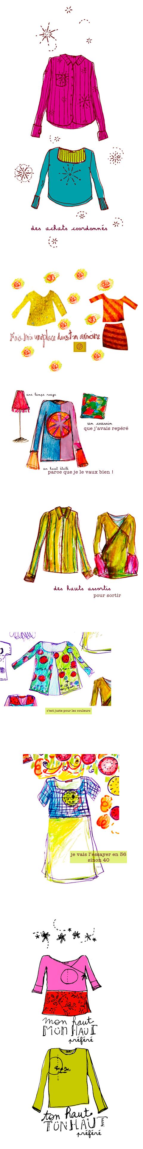 croquis la-garde-robes - Sophie Plouvier