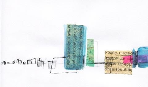 collages dessin sophie plouvier
