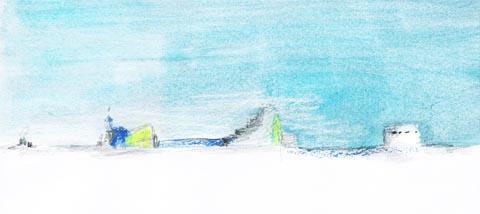 dessin paysage sophie plouvier