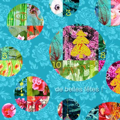 carte de Noël Sophie Plouvier