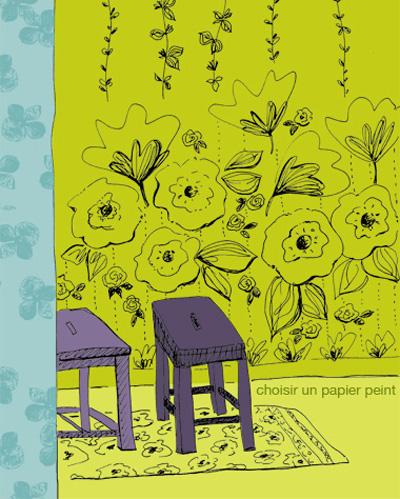 dessin tabouret Sophie Plouvier