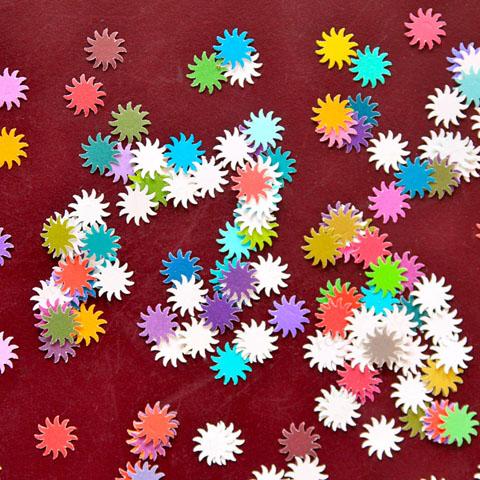étoiles en papier
