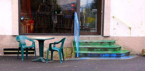 terrasse de café à Rupt