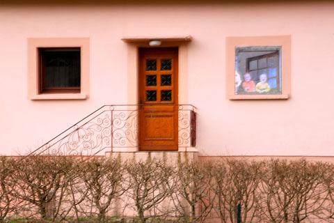 façade maison à Rupt