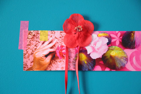 fleur tissu cécile boccara
