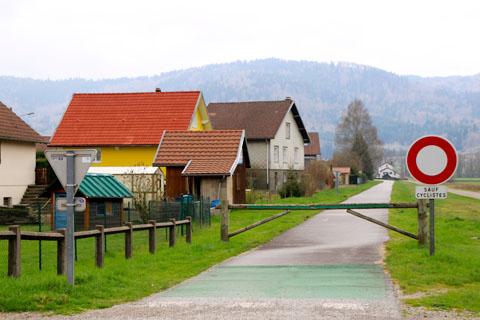 la voie verte à Rupt-sur-Moselle