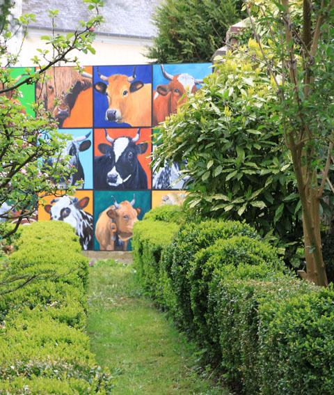 dans un jardin extraordinaire !