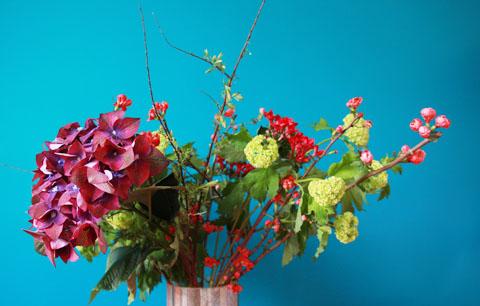 mon bouquet fd turquoise
