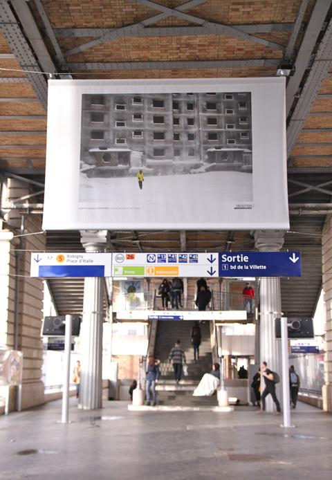exposition Circulation - station Jaurès et au 104