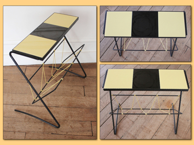 Table-porte-revues-vintage