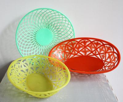corbeilles plastique-vintage