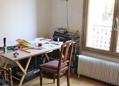 chez la créatrice Céline Mombert