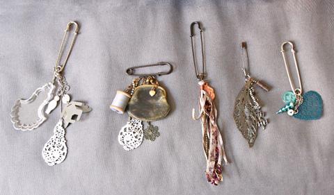 porte-clés créés par Céline Mombert