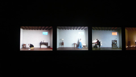 """catherine's room"" exposition Bill Viola grand Palais"
