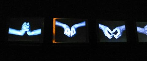 """four hands"" exposition Bill Viola grand Palais"