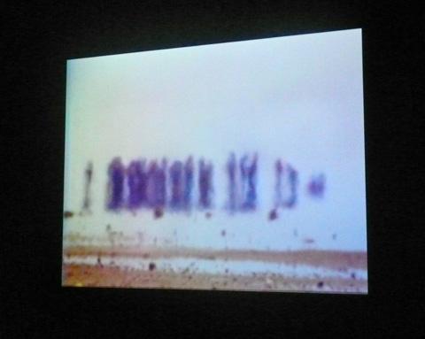 """""""chott el djerid"""" exposition Bill Viola grand Palais"""