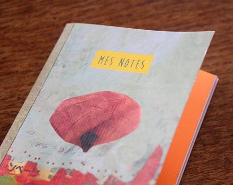 carnets Sophie Plouvier (détail)
