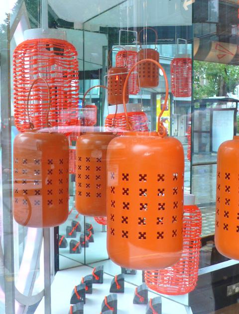 lèche-vitrine à Londres