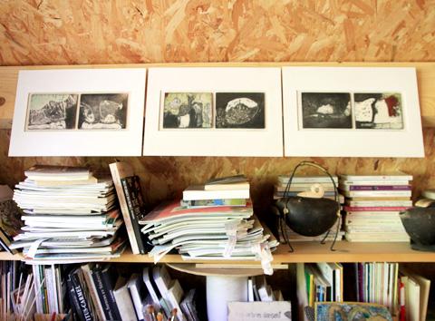 plaques-atelier Sylvie Gravellard