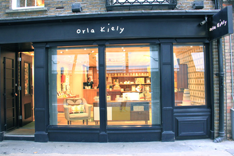 boutique Orla Kiely à Londres
