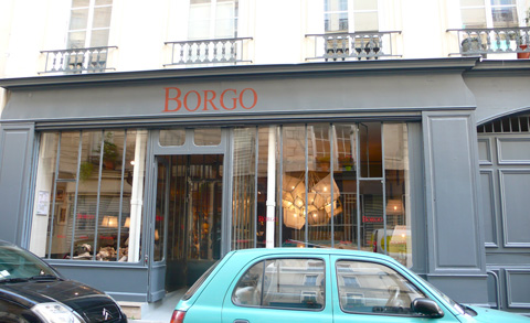 boutique Borgo Paris
