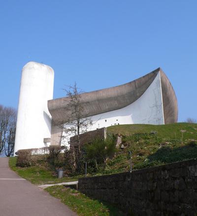 La Chapelle de Ronchamp en Franche-Comté