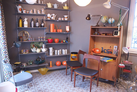 "show room ""1 rue Vintage"" - photo Sophie Plouvier"