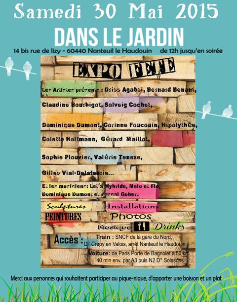 Exposition de jardin samedi 30 mai