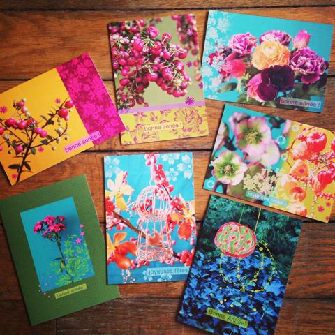 cartes de voeux Sophie Plouvier
