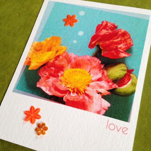 Cartes Saint Valentin customisées!