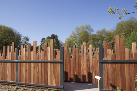Jardins Mallet Stevens - Croix (Nord) photo Sophie Plouvier