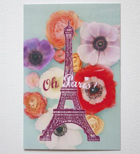 Nouvelles cartes Tour Eiffel