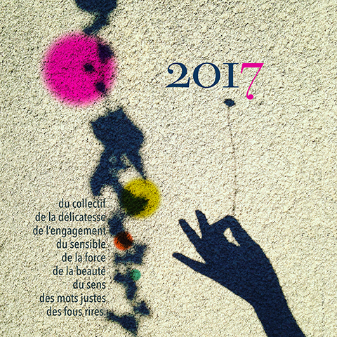 carte-voeux2017 Sophie Plouvier