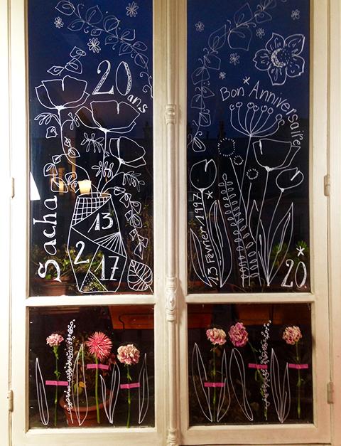 Des fenêtres fleuries !