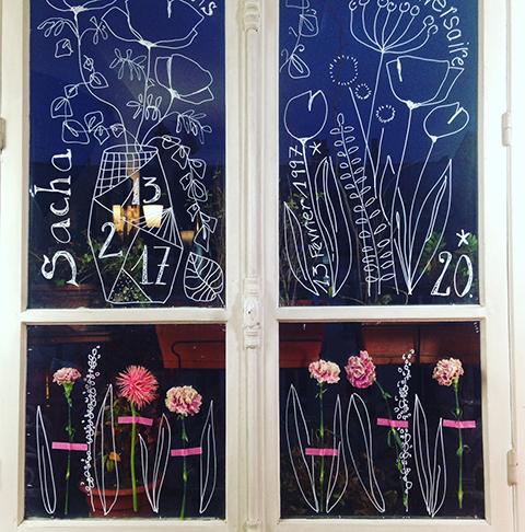 illustration fenêtre Sophie Plouvier