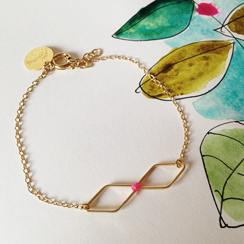bijoux petite Fernande - illustration Sophie Plouvier