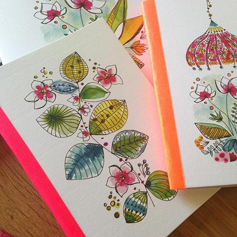 cahiers et carnets Sophie Plouvier
