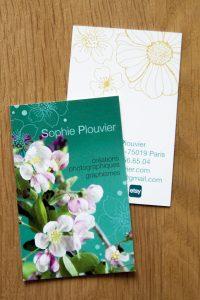 carte-visite Sophie Plouvier