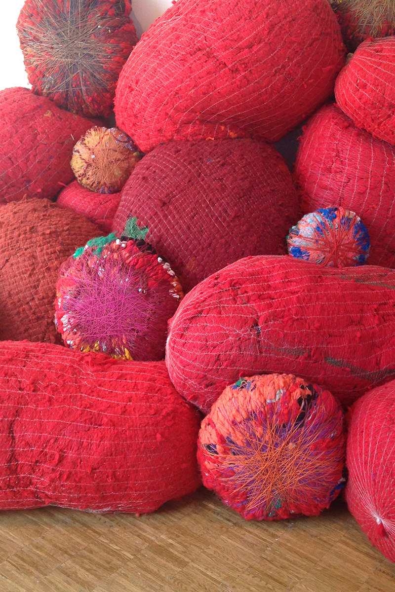 Sheila Hicks à Beaubourg