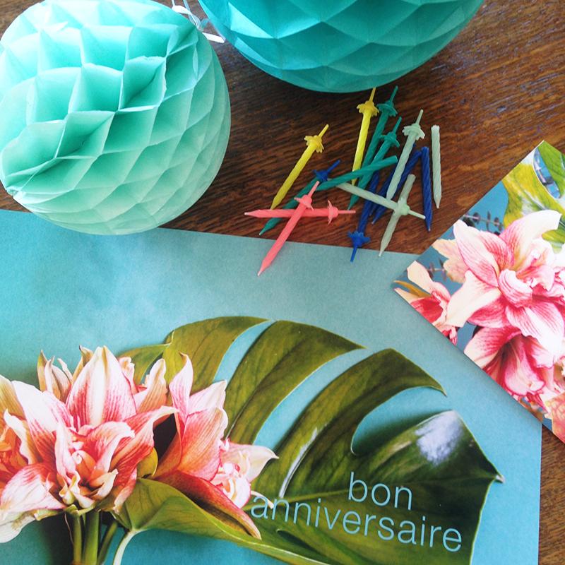 décoration anniversaire Sophie Plouvier