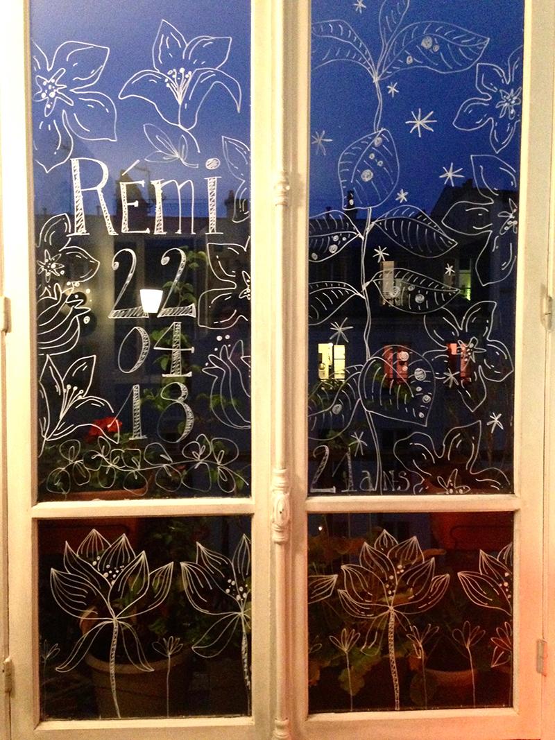 dessin fenêtre Sophie Plouvier