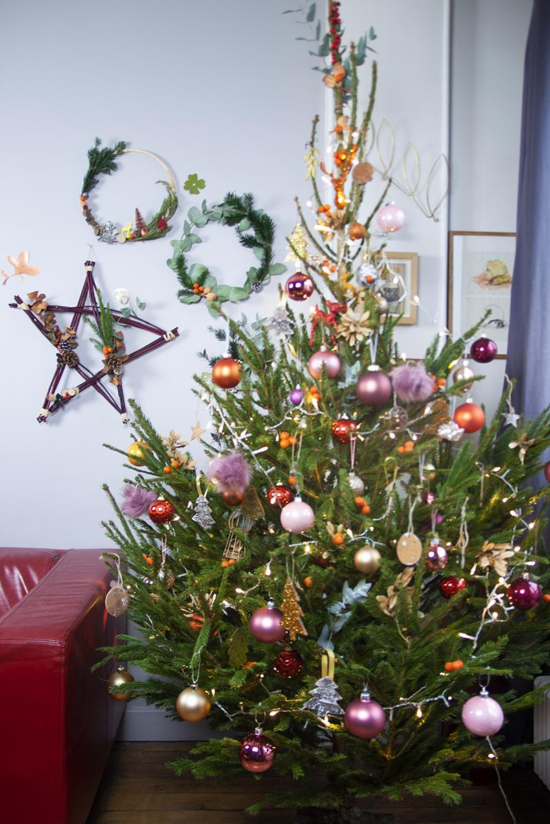 Sapin de Noël décoré !