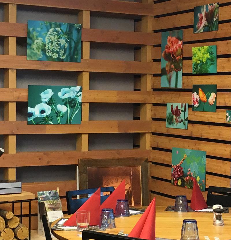 exposition de mes photos au restaurant Séson - Nogent sur Oise