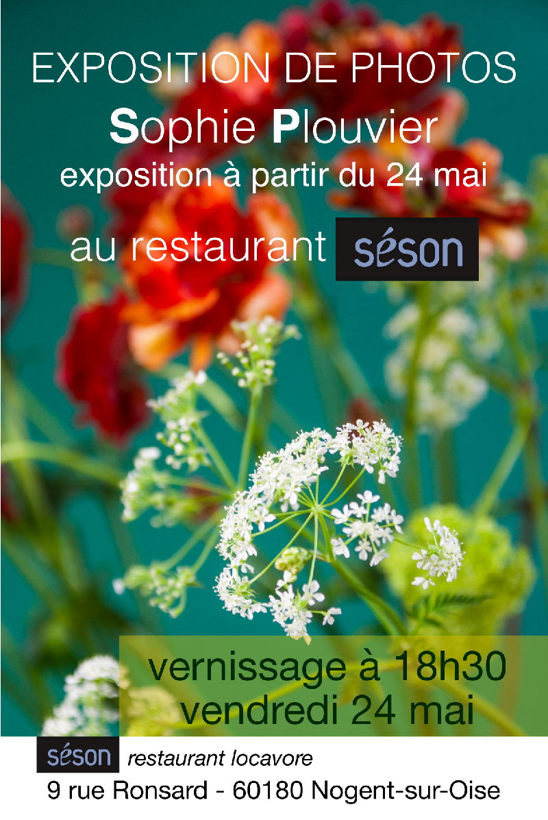 affiche expo photo chez seson