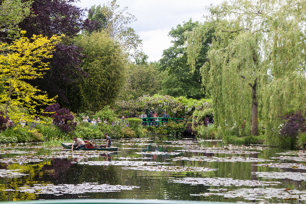 jardin de Giverny - photo Sophie Plouvier