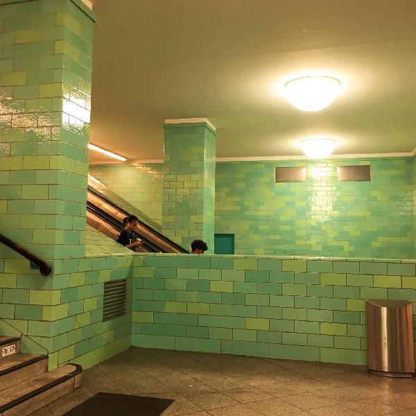 Berlin - metro - photo Sophie Plouvier