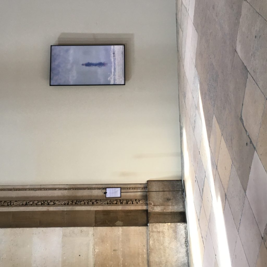 exposition Bill Viola - St Eustache - Paris