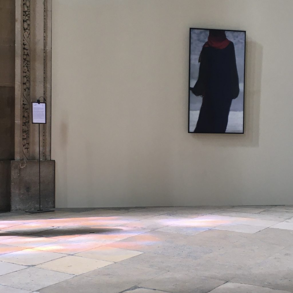 exposition Bill Viola - St Eustache - Paris